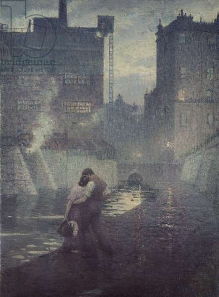 The Towpath, 1912 (oil on canvas)