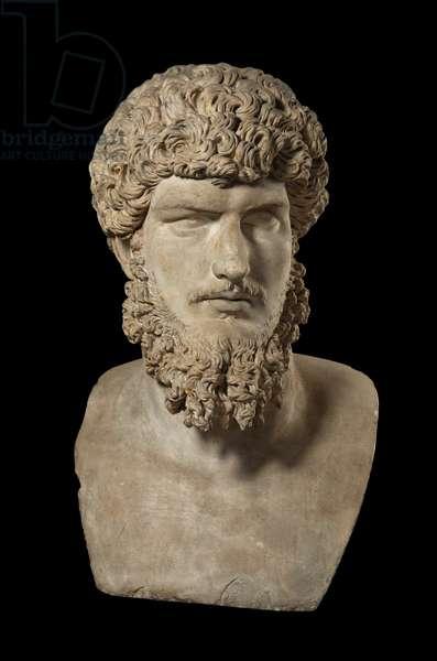 Cast of colossal portrait of Lucius Verus, Rome, original dated 2nd century AD (plaster)