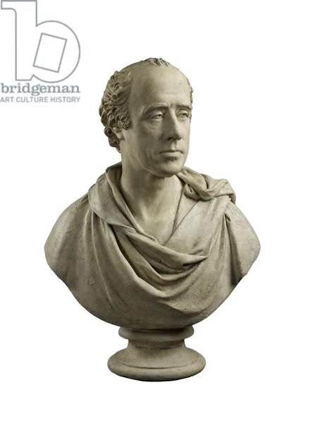 Bust of Robert Dundas of Arniston, Lord Chief Baron of the Exchequer of Scotland (1758-1819), 1817 - 1818 (plaster)
