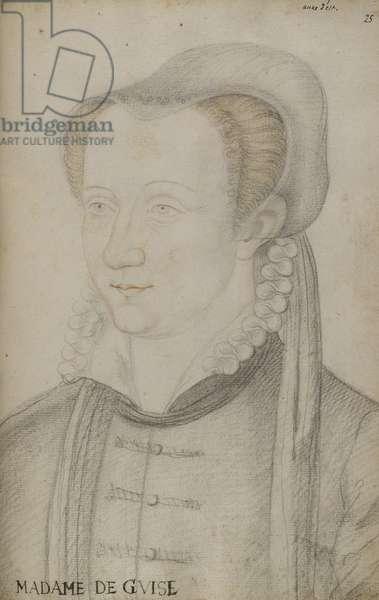 Anne d'Este (chalks)