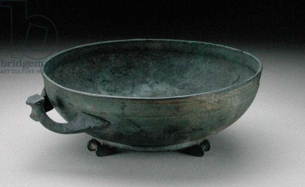 Bowl, from a grave at Dalboki, Bulgaria (cast bronze)