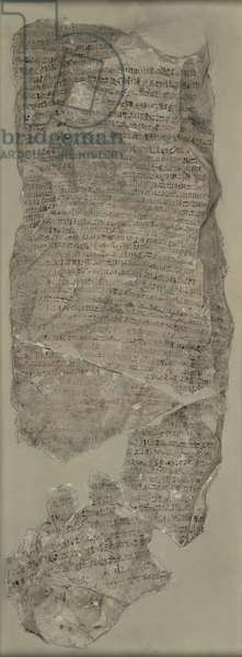Sinuhe Ostracon, New Kingdom (limestone)