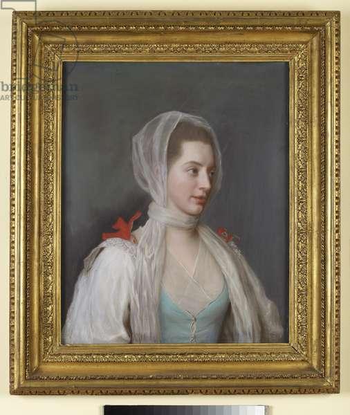 Portrait of Lady Charles Spencer (pastel)