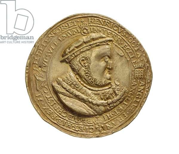 Renaissance Medal, 1545 (gold)