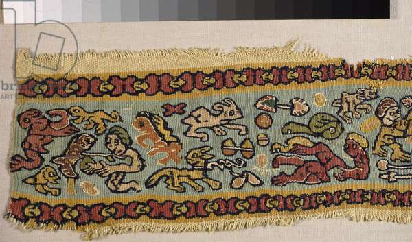 Fragment of a tapestry band (tapestry)