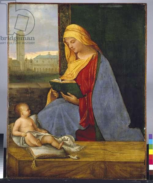 Virgin and Child (The Tallard Madonna), 15th century (oil on panel)