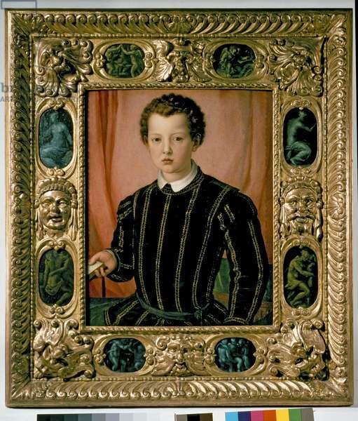 Portrait of Don Giovanni de' Medici (1475-1521) (oil on canvas)