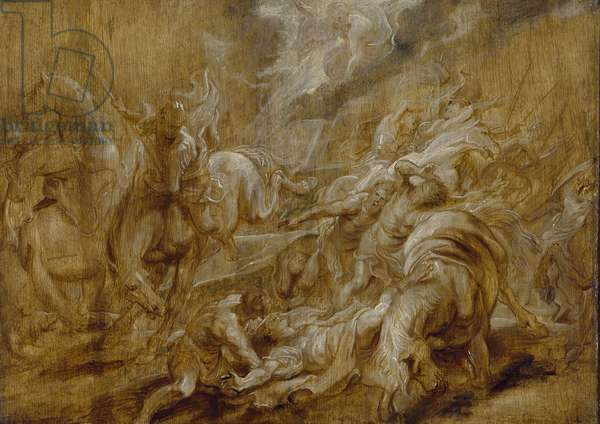 The Conversion of St Paul, c. 1616 - 1620 (oil on panel)