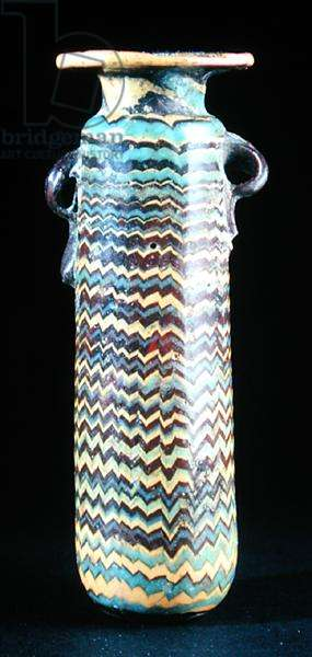 An alabastron, th century BC (glass)