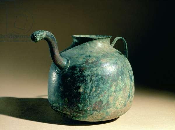 Bronze Age kettle, Iran (bronze)