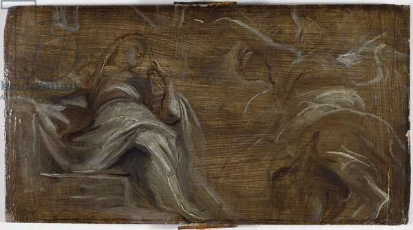 The Annunciation, 17th century (oil on panel)
