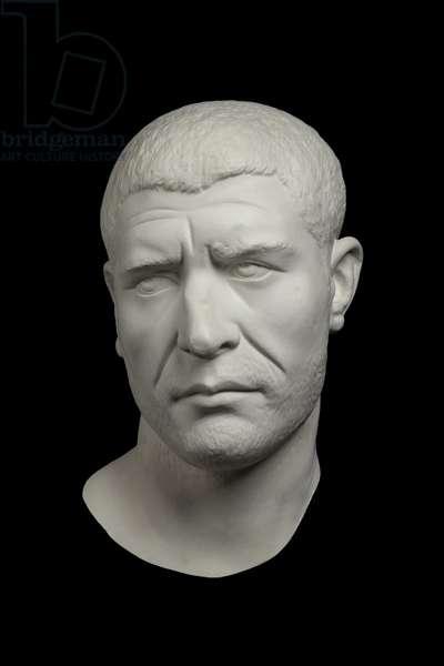 Cast of head of Philip the Arab, near Rome, original dated AD 244-249 (plaster)