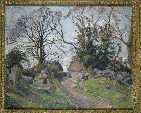 Poulfenc à Riec, 1910 (oil on canvas)