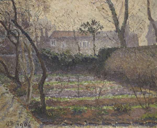 Hoar Frost, Chiswick, 1906 (oil on canvas)