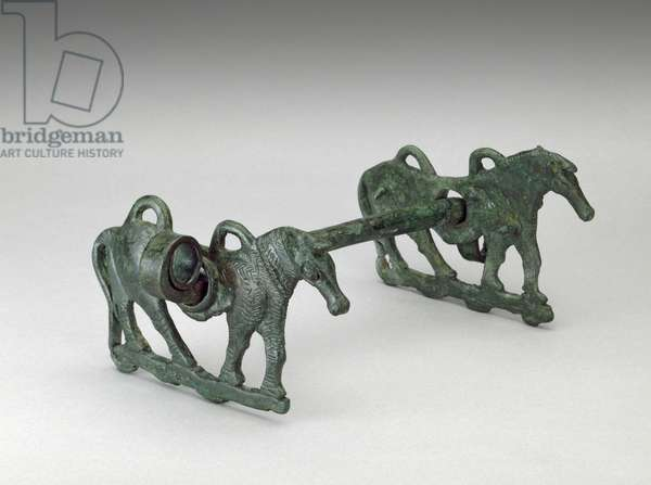 Horse Bit, possibly 9th-7th century BC, Iran (bronze)