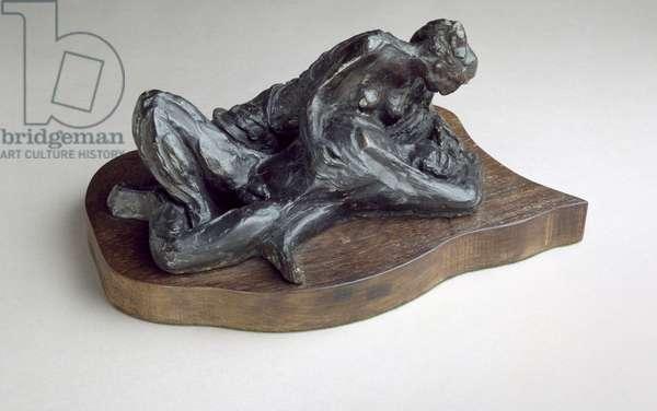 Samson and Delilah, 1960 (bronze)