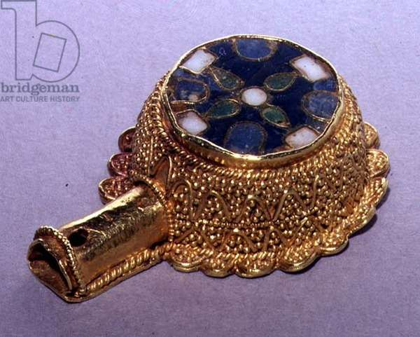 Minster Lovell Jewel, probably 17th century (enamel and gold cloisonne)    4