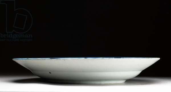 Plate, Edo Period, 1660-90 (ceramic)