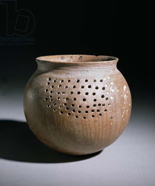 Strainer, Amlash, Marlik in the northern Iranian Gilan mountains (pottery)