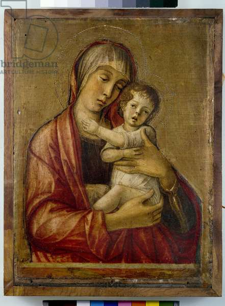 Madonna and Child (tempera on panel)