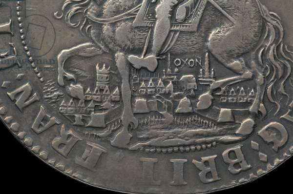 Early Modern English Coin, 1644 (silver)