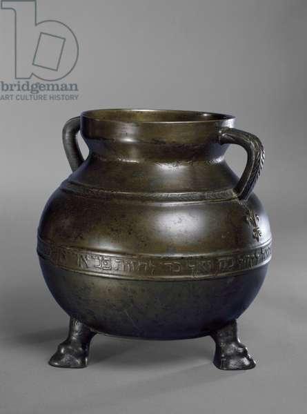 The Bodleian Bowl, Paris, 13th century (bronze)