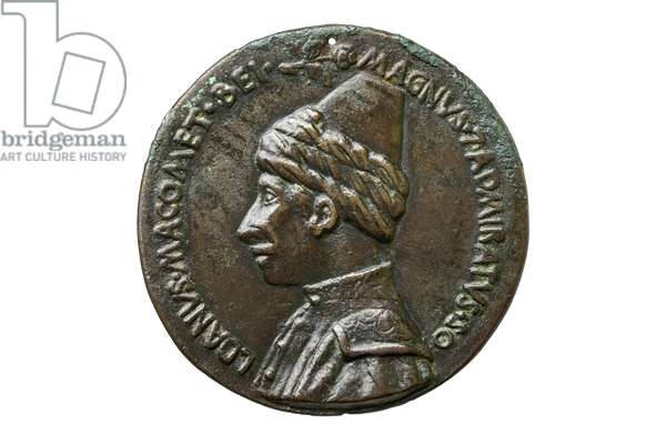 Medal depicting Mehmed II, c.1460-70 (bronze)