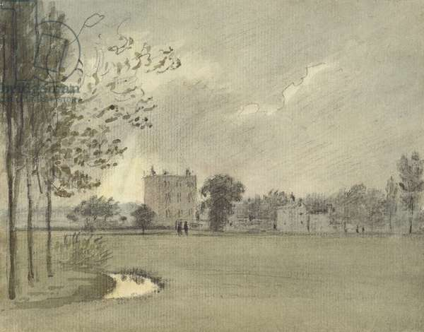 Christ Church Meadows, 6 May 1788 (watercolour over graphite, on paper)