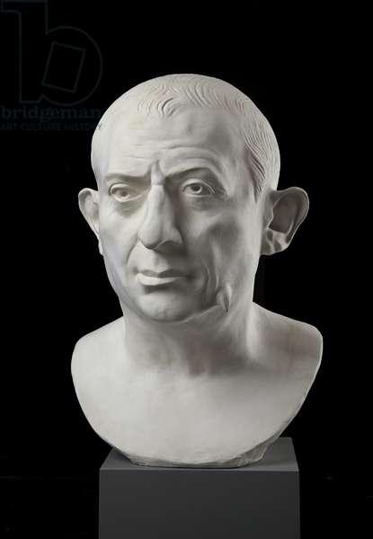 Cast of bust of L. Caecilius Iucundus, Pompeii, original dated AD 60-79 (plaster)