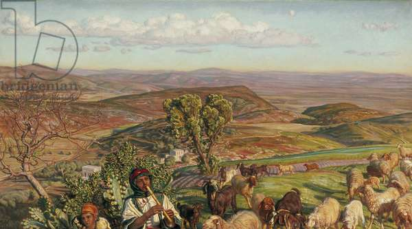 Plain of Esdraelon from the Heights above Nazareth, 19th century (oil on canvas)