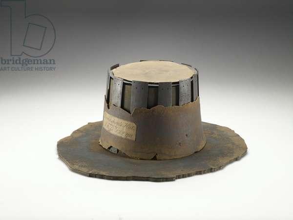 The Hat of Judge John Bradshaw, 17th century (leather)