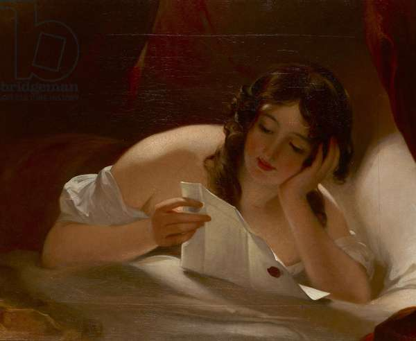 The Love Letter, 1834 (oil on canvas)