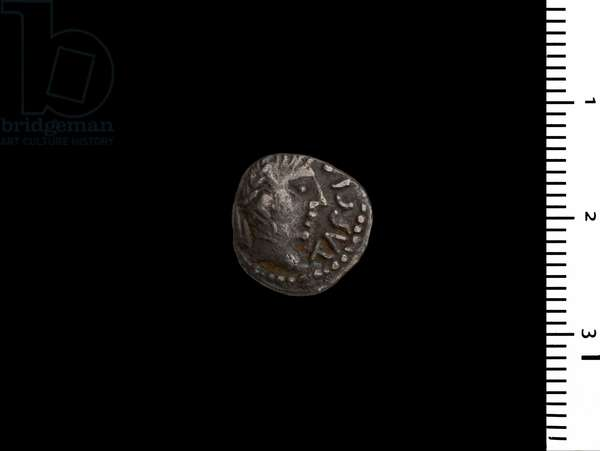 Coin depicting King Tasciovanus (silver)