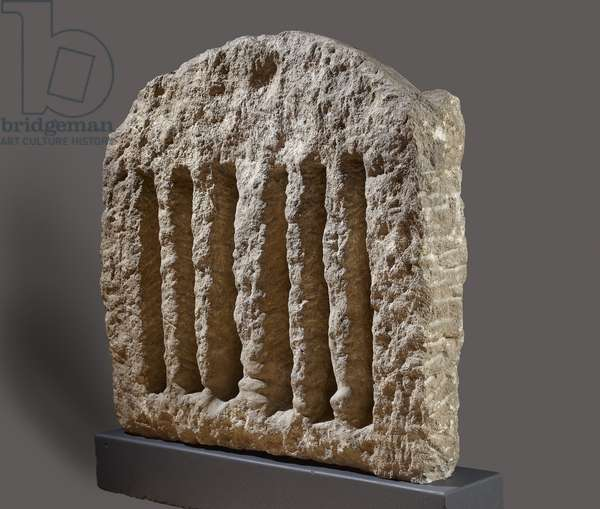 Window Grill, Amarna, 14th century BC (stone) (see also 111578)