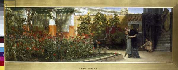 Corner of a Roman Garden, 1878 (oil on canvas)