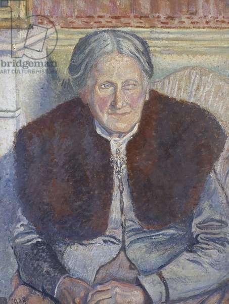Mme Camille Pissarro, 1923 (oil on canvas)