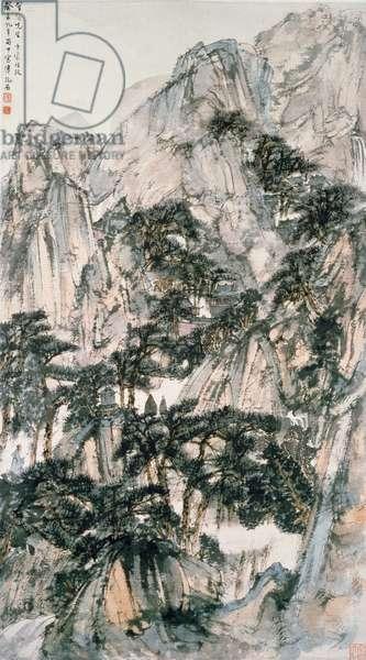 Landscape (ink on paper)