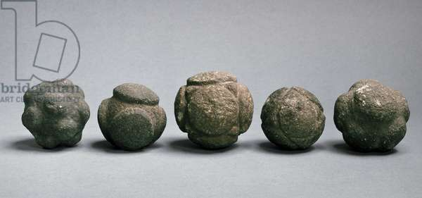 Carved balls, Scotland, late Neolithic, c.3750-2000 BC (stone)