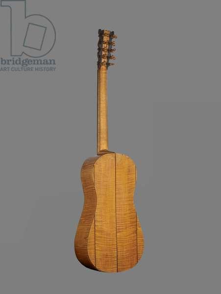 Guitar, 1688 (pine, maple)
