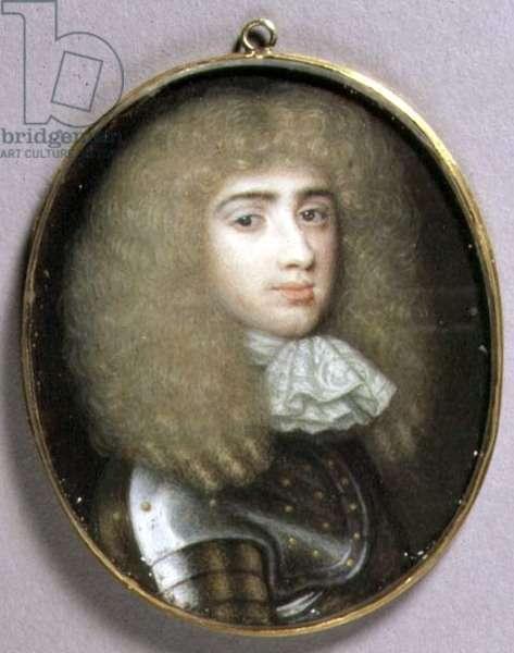 Portrait Miniature of Robert Porter, c.1660 (w/c on vellum)