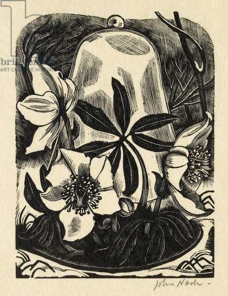Christmas Toses, 1928 (wood engraving)