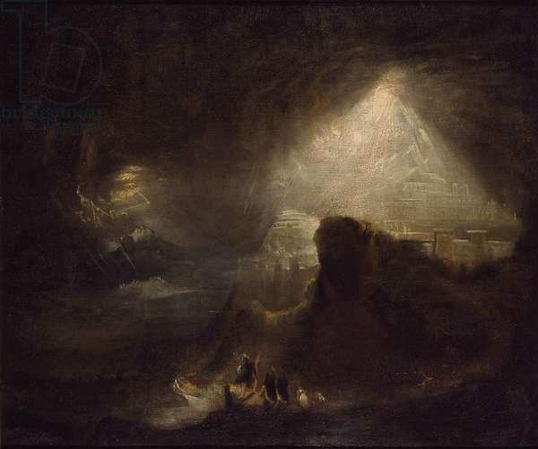Joshua Commanding the Sun to Stand Still, 19th century (oil on canvas)