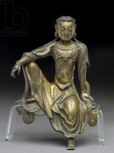 Bodhisattva Avalokitesvara, Yuan dynasty (gilt bronze) (see also 119004)