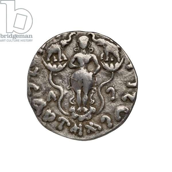 Indo-Scythian Coin, 20 BC (silver)