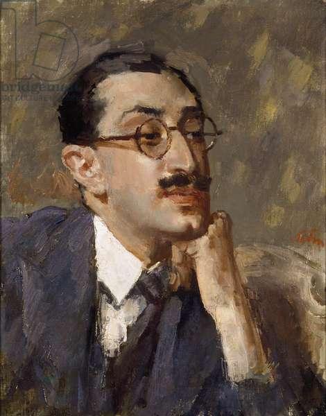 Villiers David, 1932 (oil on canvas)