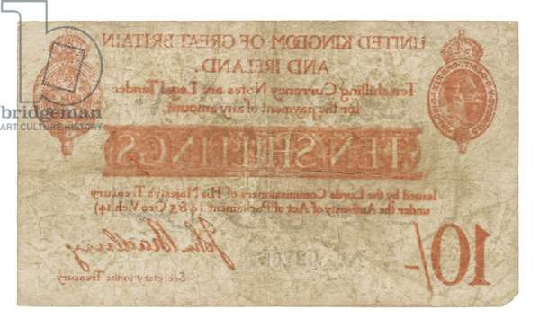 Bank Note of the United Kingdom, 1915 (paper)