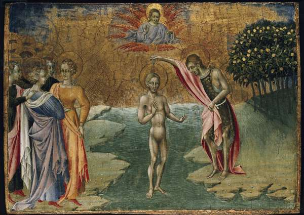 The Baptism of Christ, 15th century (tempera on panel)