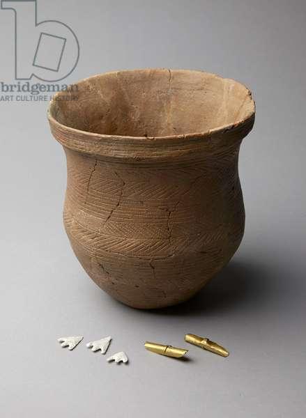 Beaker, c.2500-c.2150 BC (ceramic)
