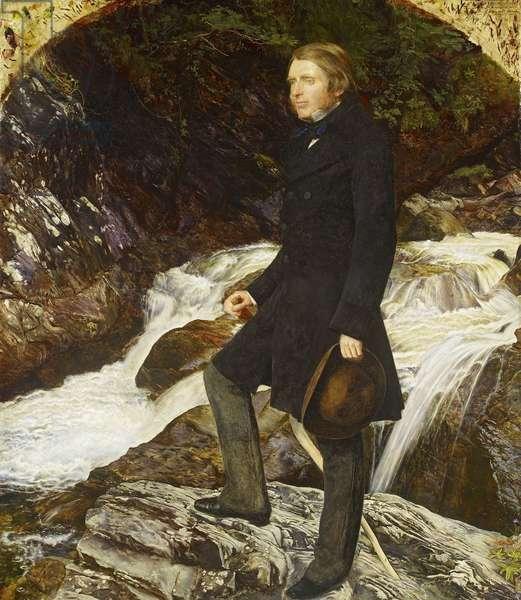 John Ruskin, 1854 (oil on canvas)