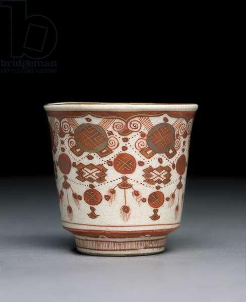 Cup, Kaga Province, Meiji era (porcelain)